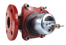 Heating water meter with flange WP